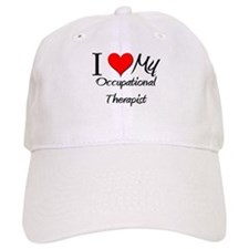 I Heart My Occupational Therapist Baseball Baseball Cap