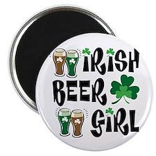 Irish Beer Girl Magnet
