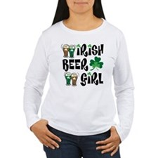 Irish Beer Girl T-Shirt