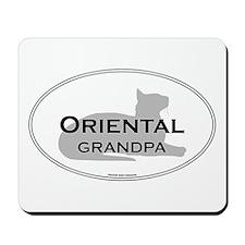 Oriental Grandpa Mousepad