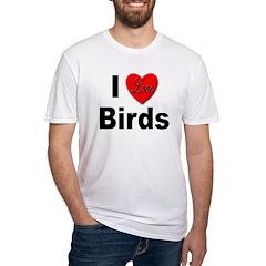 I Love Birds (Front) Shirt