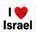I Love Israel for Israel Lovers Small Poster