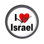 I Love Israel for Israel Lovers Wall Clock