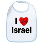 I Love Israel for Israel Lovers Bib