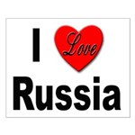 I Love Russia for Russians Small Poster