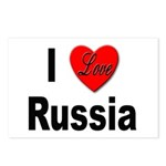 I Love Russia for Russians Postcards (Package of 8