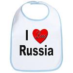 I Love Russia for Russians Bib