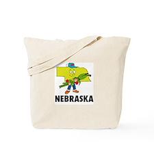Nebraska Fun State Tote Bag