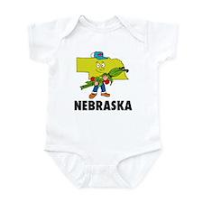 Nebraska Fun State Infant Bodysuit