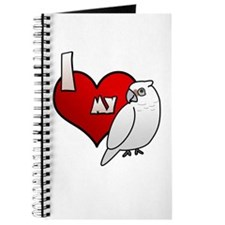 Love Bare-Eyed Cockatoo Journal