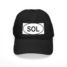 Solomon Islands Oval Baseball Hat