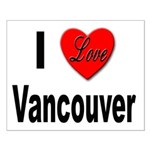 I Love Vancouver Small Poster