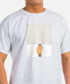 Writers Strike/Fill in your Message - T-Shirt