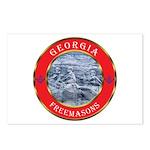 Georgia Masons Postcards (Package of 8)