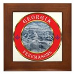 Georgia Masons Framed Tile