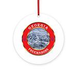 Georgia Masons Ornament (Round)