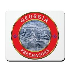 Georgia Masons Mousepad