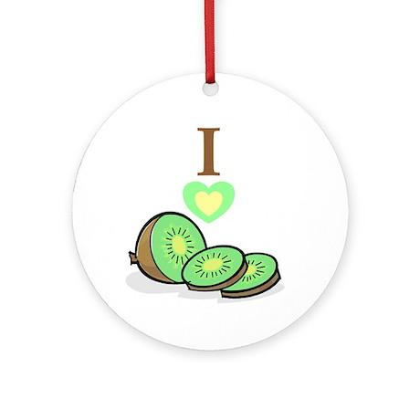 I love Kiwis Ornament (Round)