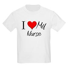 I Heart My Nurse T-Shirt