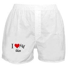 I Heart My Nun Boxer Shorts