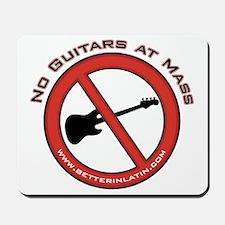 No Guitars Mousepad