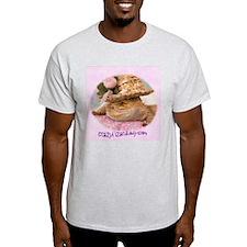 sittin' pretty Ash Grey T-Shirt