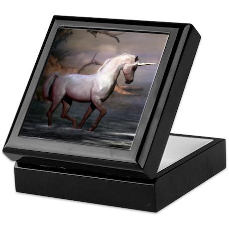 Morning Unicorn Keepsake Box