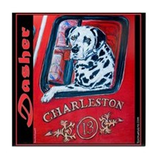 Dasher the Dalmation in memory of... Tile Coaster