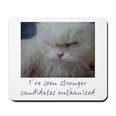 Strong Candidate? II Mousepad