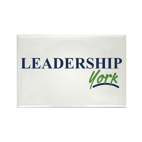 Leadership York Rectangle Magnet