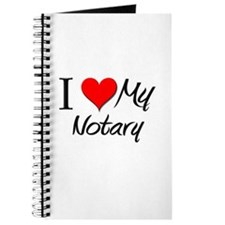 I Heart My Notary Journal