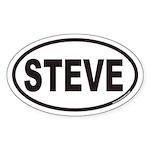 STEVE Euro Oval Sticker
