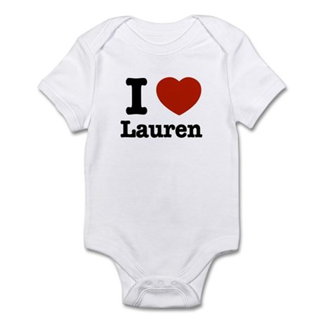 I love Lauren Infant Bodysuit