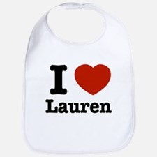 I love Lauren Bib