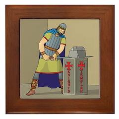 KT With Sword Framed Tile