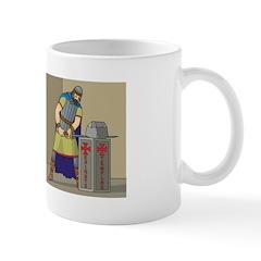 KT With Sword Mug