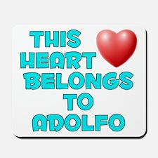 This Heart: Adolfo (E) Mousepad