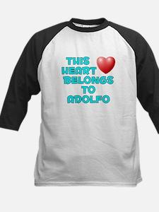 This Heart: Adolfo (E) Kids Baseball Jersey