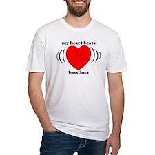 My Heart Beats Basslines Shirt