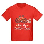 Daddy's Dust Cycling Bicycle Kids Dark T-Shirt