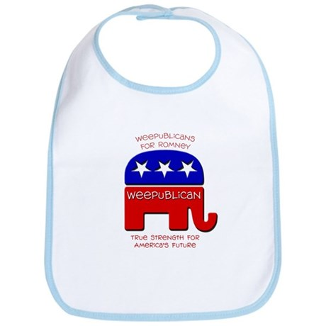 Weepublicans for Romney Bib