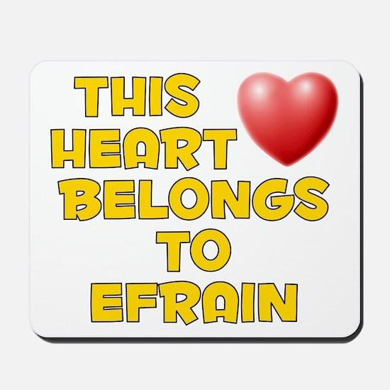 This Heart: Efrain (D) Mousepad