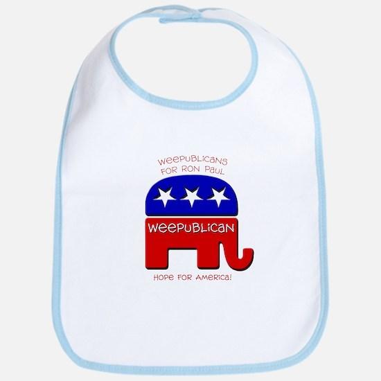 Weepublicans for Ron Paul Bib