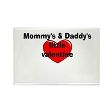 Mommy's and Daddy's little Va Rectangle Magnet