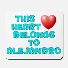 This Heart: Alejandro (E) Mousepad