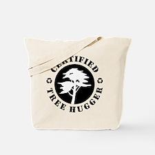 Certified Tree Hugger Tote Bag
