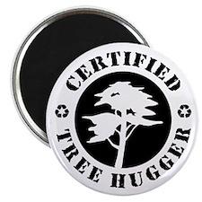 "Certified Tree Hugger 2.25"" Magnet (10 pack)"