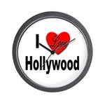 I Love Hollywood Wall Clock