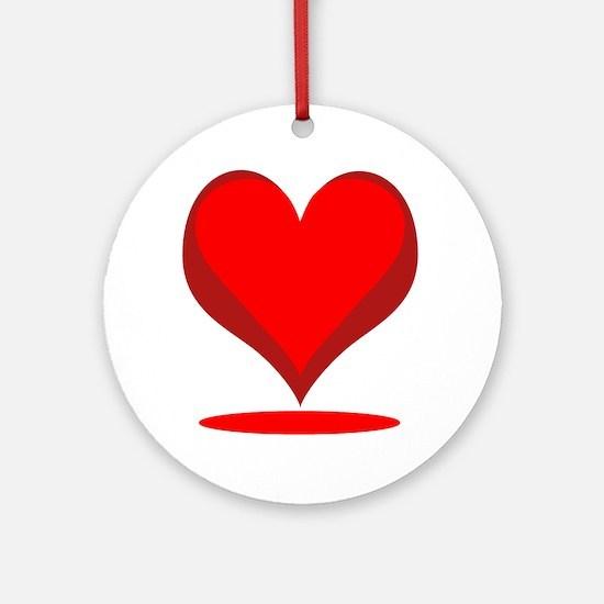 Valentine Celebrity Ornament (Round)