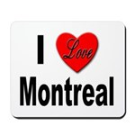 I Love Montreal Quebec Mousepad